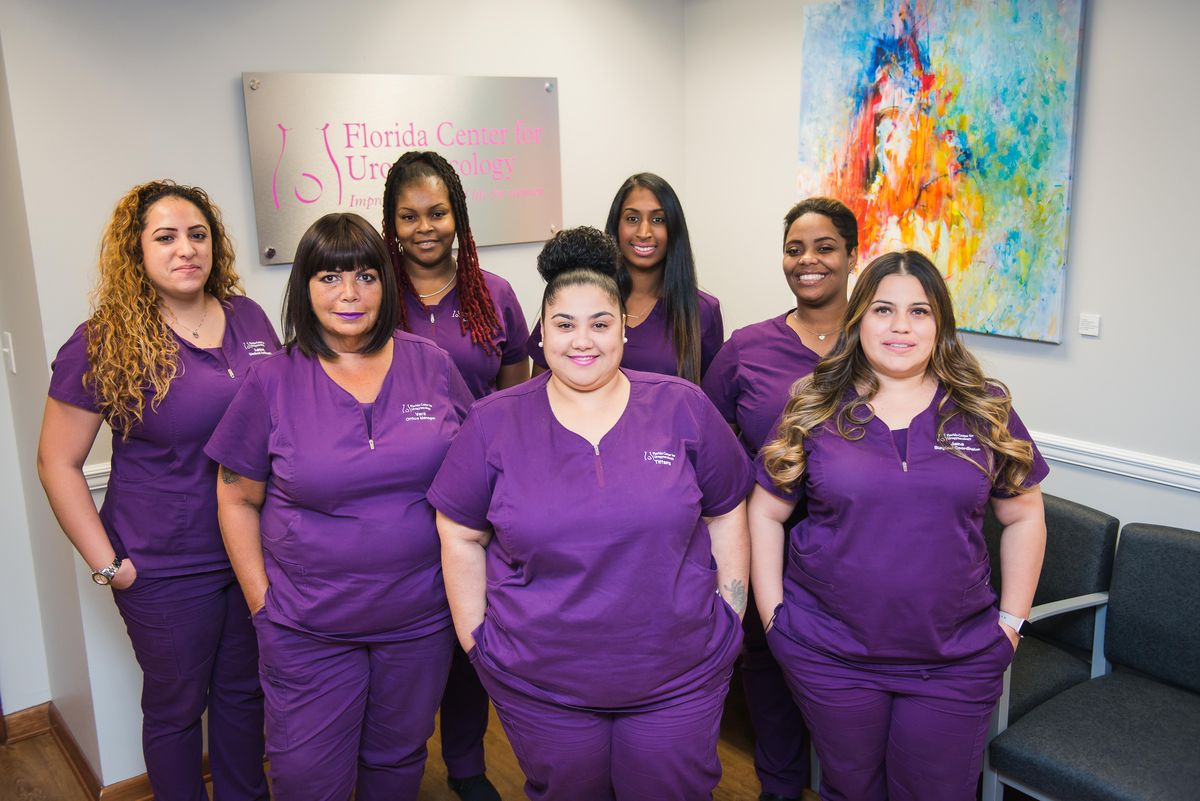 Florida Center for Urogynecology Staff
